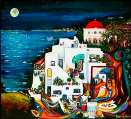 Island - a painting by Gina Ware